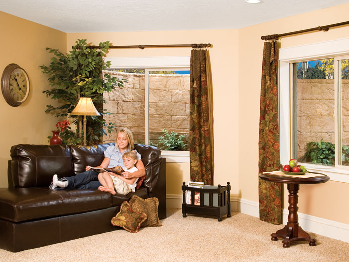 Basement Window Well Designs finished basement touches new york | doors, windows, crown molding