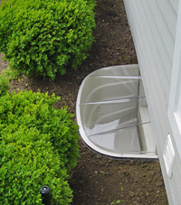 basement egress window well