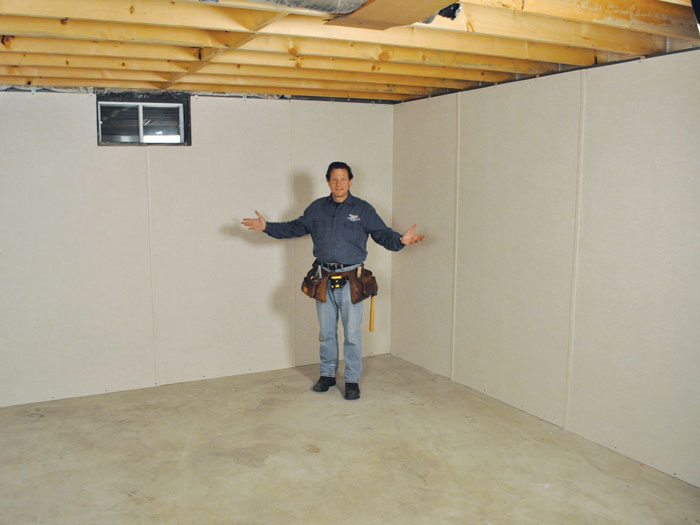 Insulated Basement Wall Panel Contractor in Middletown Poughkeepsie