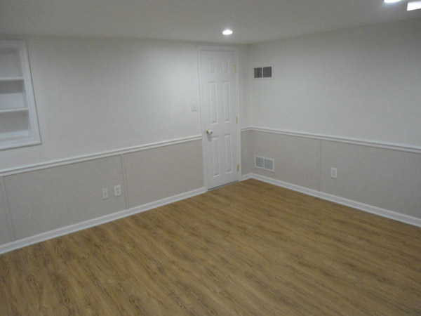 basement wall panels. Our Complete EverLast  Finished Wall Restoration System Installed In A Basement With Floor Basement Wet Drywall Repair Hudson Valley