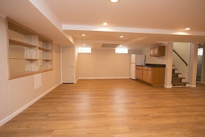 Basement finishing flooring in Monsey & nearby